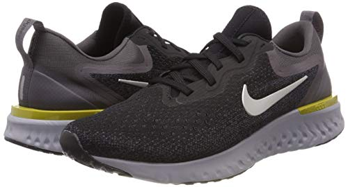 Nike Men's Odyssey React Running Shoe, Black/Metallic Pewter-Thunder Grey, 7.5 by Nike (Image #5)