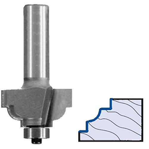 (Whiteside Router Bits 3164 Classical Cove Bit with 5/32-Inch Radius, 1-1/4-Inch Large Diameter and 1/2-Inch Cutting Length)
