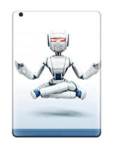 Durable Protector Case Cover With Technology Robots Hot Design For Ipad Air