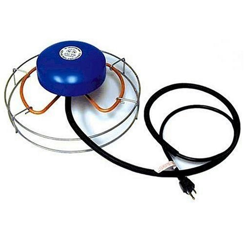 Farm Innovators Model H-4615 Convert-able De-Icer with Attached Guard, 1,500 Watts