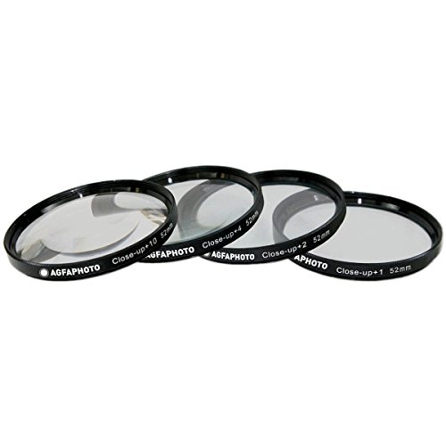 AGFA 4-Piece Close-Up Macro Multi Coated Filter Kit 52mm  AP