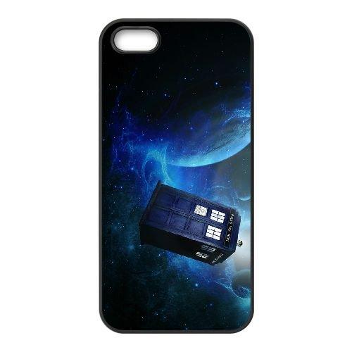 Doctor Who 003 coque iPhone 5 5S cellulaire cas coque de téléphone cas téléphone cellulaire noir couvercle EOKXLLNCD23270