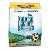 Natural Balance L.I.D. Limited Ingredient Diets Legume and Duck Meal Dry Dog Formula, 12.5-Pounds, My Pet Supplies