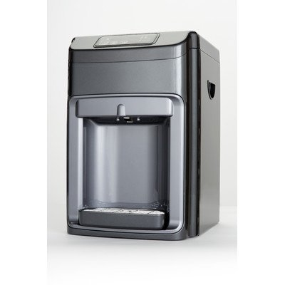 Hot, Cold, and Room Temperature Countertop Water Cooler in Silver