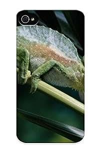Standinmyside Brand New Defender Case For Iphone 4/4s (four Horned Chameleon) / Christmas's Gift