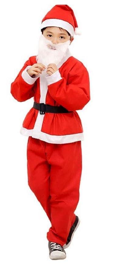 Disfraz de Papá Noel para niño - duende - carnaval - halloween ...