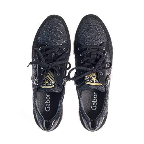 Marron 3 5 Noir Sneakers Gabor 36 Rq1w577XxI