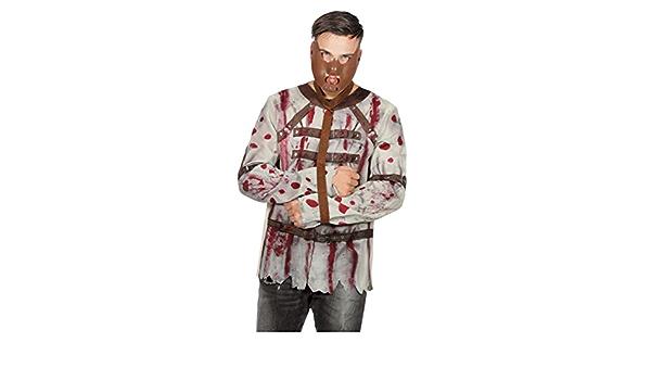 Camisa De Traje Sangriento Straitjacket Hombre 54: Amazon.es ...