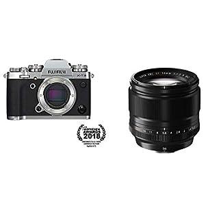 Fujifilm X-T3 Mirrorless Digital Camera (Body Only) - Silver + Fujinon XF56mmF1.2 R