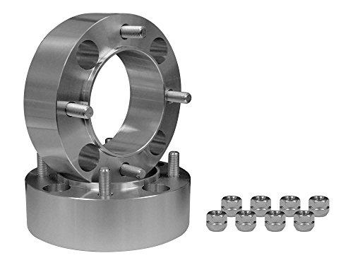 SuperATV Heavy Duty 2 Aluminum Wheel Spacers for Kawasaki Teryx 4 750/800 /  4 800-1 Pair