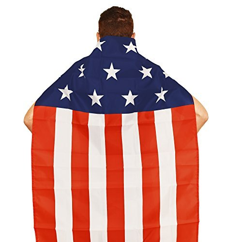 Aguila American Flag Cape]()