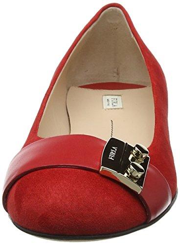 Furla Metropolis Ballerinas T.5 - Zapatillas de Ballet Mujer Red (Peperoncino B)