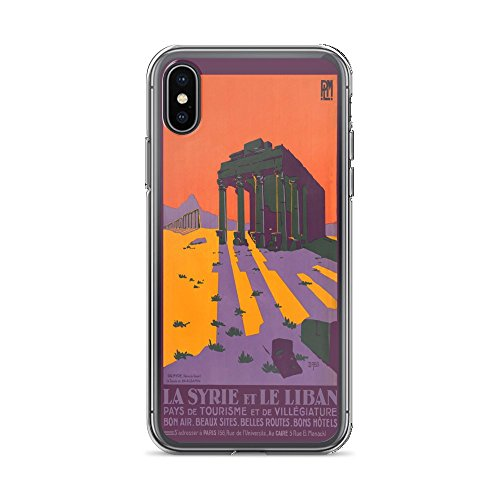 Palmyra Collection (Vintage Poster - Syria and Lebanon 0941 - iPhone Xs Max Phone Case)