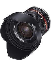 Samyang 12mm F2.0 Lens voor Aansluiting Sony E, Zwart