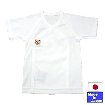 bcdbd84f7bf10 日本製☆ワンタッチフライス短肌着(サイズ40-50cm/50-