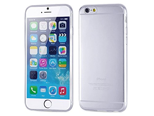 iPhone 6 case - Hapurs Ultra Thin Slim Back Cover Case for iPhone 6, Crystal Clear TPU Flexible Soft Case Apple iPhone 6 (4.7inch) Skin case iPhone 6 with 4.7 inch Screen