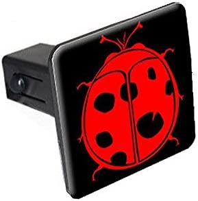 Graphics and More Ladybug On Black Tow Trailer Hitch Cover Plug Insert 1 1//4 inch 1.25