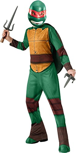 Teenage Mutant Ninja Turtle Adult Costumes (Teenage Mutant Ninja Turtles Raphael Costume, Small)