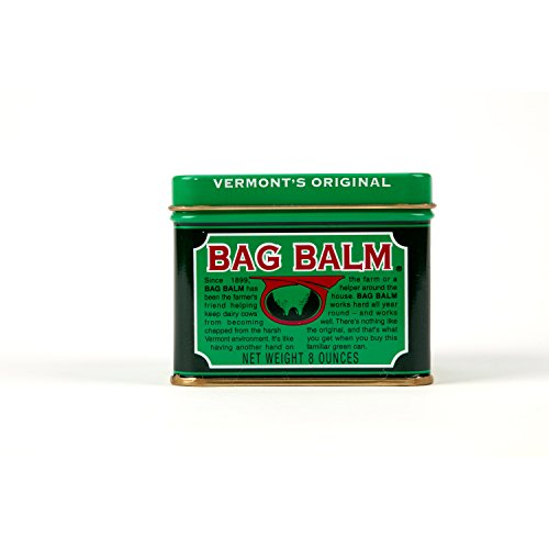 Vermont's Original Bag Balm Animal Ointment 8 Ounce Tin - For Animals and Cow Udders. For Chapped conditions and superficial abrasions