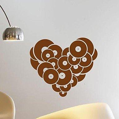 PI pegatinas de pared Tatuajes de pared, moderno el disco de amor ...