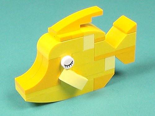 2000 Tub - Fish Building Instructions with LEGO Classic 10704