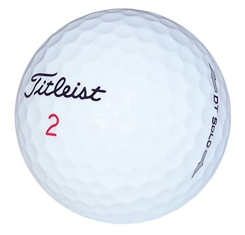 (Titleist DT Solo Mint Recycled Golf Balls (36 Pack))