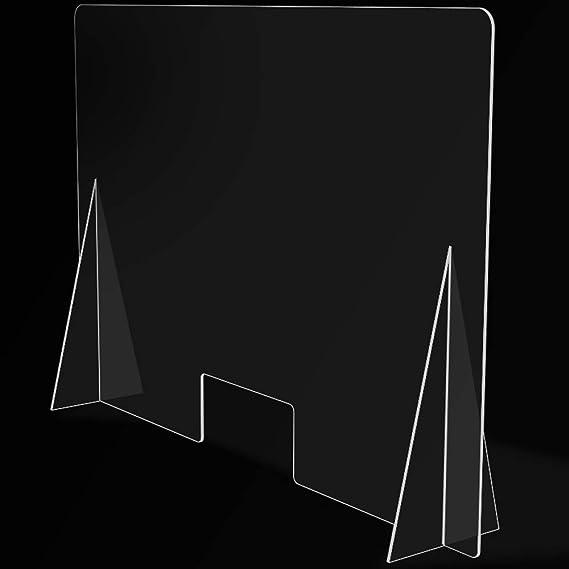 Mampara de Protección para mostradores, Policarbonato/Metacrilato Compacto 3-4 mm, Varias medidas (100cm x 70cm): Amazon.es: Salud y cuidado personal