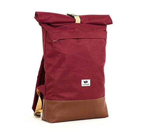 Freibutler - Bolso Courier bag I Burgundy