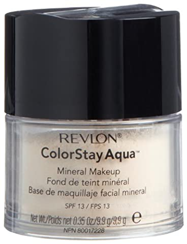 Revlon Colorstay Aqua Mineral Makeup, Light,