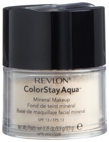 Makeup Mineral Revlon (Revlon Colorstay Aqua Mineral Makeup, Light, 0.35-Ounce)