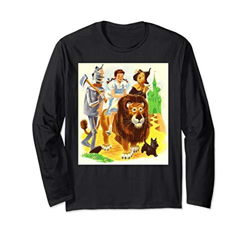Dorothy Toto Scarecrow Lion Tin Man Wizard of OZ Shirt ()