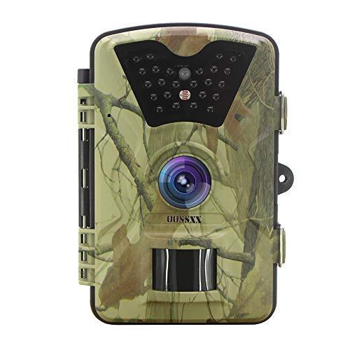 OOSSXX Day/Night Trail Camera, 12MP Full HD 1080P 90° PIR Sensor...