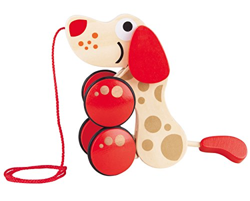 Hape - Walk-A-Long Puppy Toy 30th Anniversary - 2016 LIMITED EDITION
