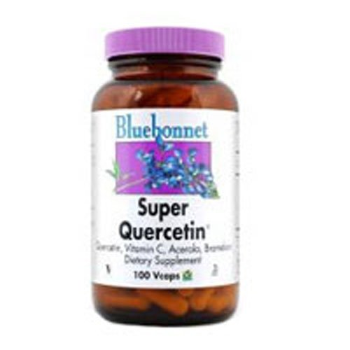 Super Quercetin, 60 VC by Bluebonnet Nutrition (Pack of 2)