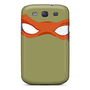 Excellent Hard Phone Cover For Samsung Galaxy S3 (Wqz29964gFpv) Support Personal Customs High-definition Tmnt Michelangelo Pattern