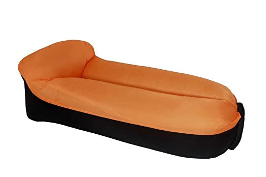 Sofa hinchable camping