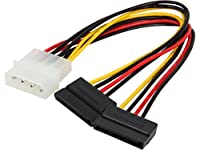 Nippon Labs SATA-Y-15P2-0.6FT 8-Inch SATA Serial ATA Splitter Cable