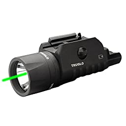 TRUGLO TG7650G Tru-Point Green Laser/Light Combo, Black