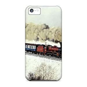 linJUN FENGAigTTvQ8971bYytc Twin Engine Steam Train Awesome High Quality iphone 5/5s Case Skin