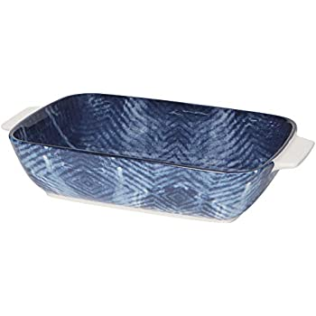 Now Designs Stamped Baking Dish Lava Rock Design 6 inches Square