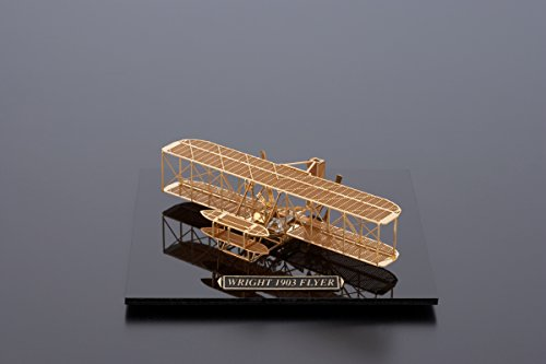 Wright 1903 Flyer - Brass Model Airplane Kit (1:160) Scale by Aero Base