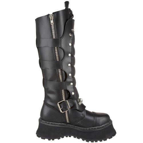 Demonia RAVAGE-II Blk Leather Size UK 5 EU 38