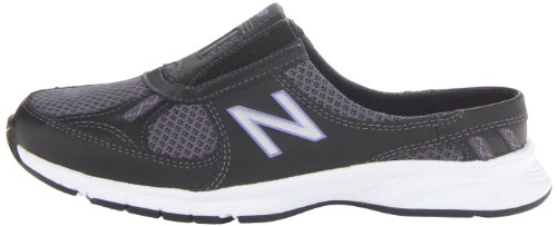 888098229813 - New Balance Women's WW520 Walking Shoe,Black/Purple,8 2A US carousel main 4