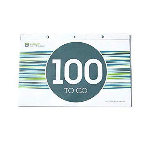 Creative Countdown Tear Off Countdown Calendar 100-days - Wall Unit Extra Large -