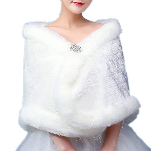 フェイクファー ショール ボレロ レディースボレロ ドレス 成人式 ストール ケープ 結婚式 着物 和装 成人式 パーティー 同窓会 可愛い ふわふわ 柔らかい