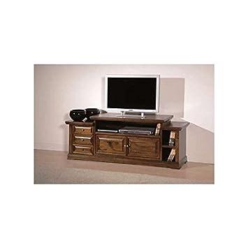 Mobili per pc in arte povera - Mobili per tv in legno ...