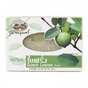 New Abhabibhubejhr Thai Guava Leaves Soap 100 G. Thailand Product by Abhaibhubejhr