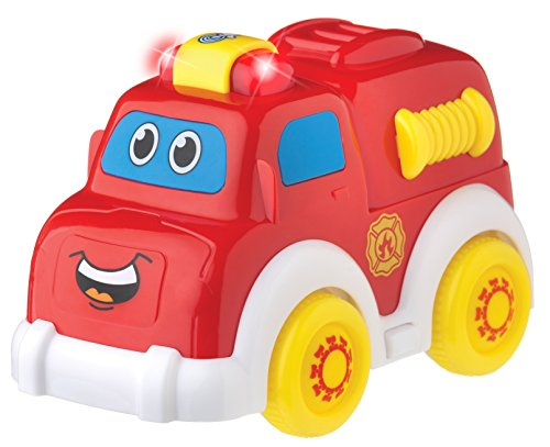 Playgro 6383865 Lights and Sounds Fire Truck for Baby Infant Toddler (Infant Truck Fire)