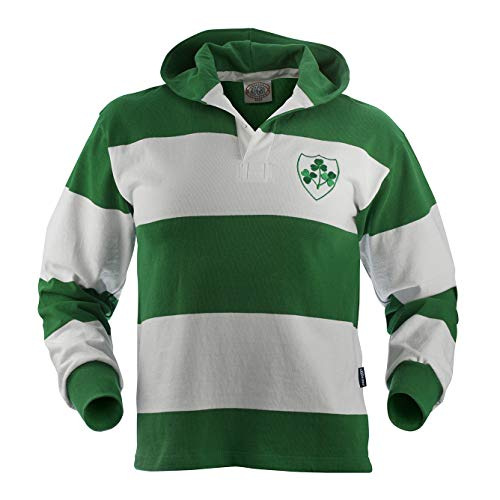 - Ireland Hooded Rugby Jersey