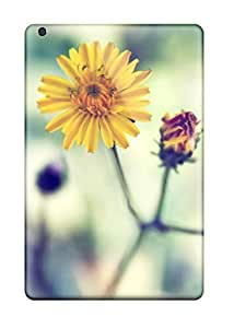 High Quality CaseyKBrown Yellow Spring Daisy Skin Case Cover Specially Designed For Ipad - Mini/mini 2